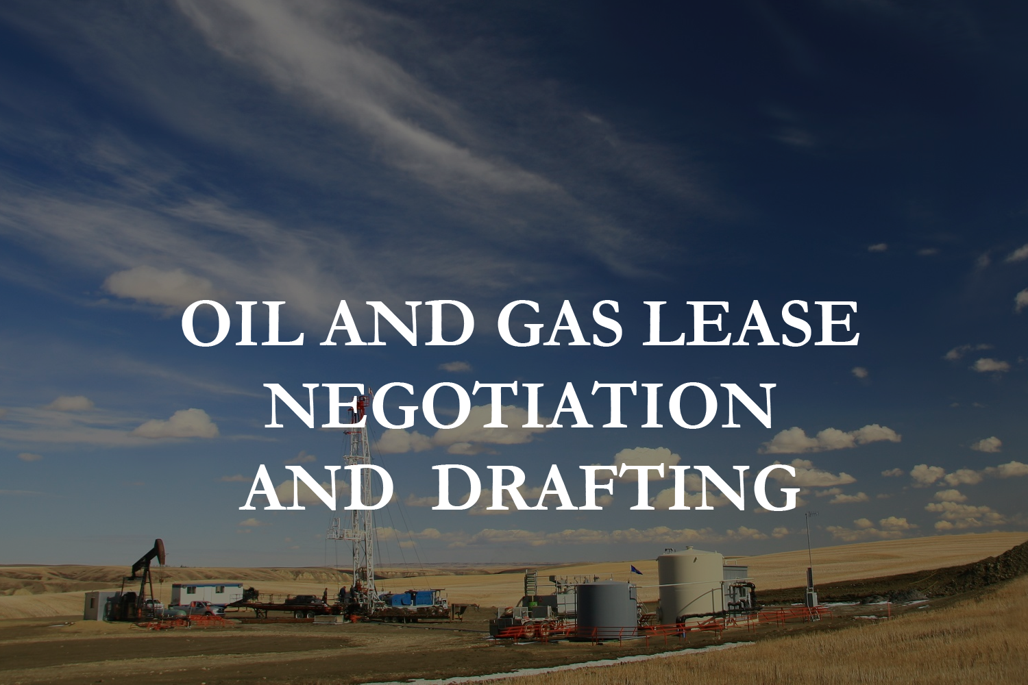 oil and gas lease image