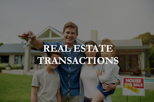 real estate transactions image